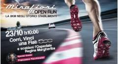 A Torino Mirafiori Open Run, di corsa per una buona causa
