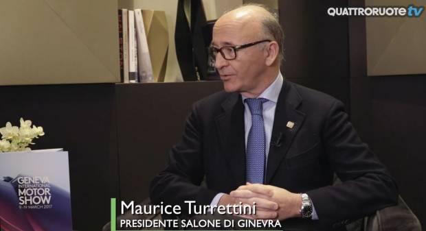Salone di Ginevra 2017 La nostra intervista a Maurice Turrettini - VIDEO