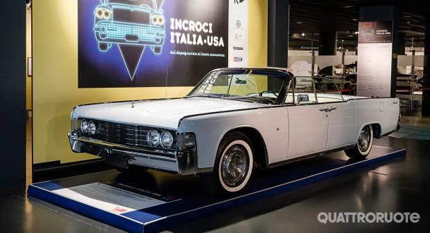 Una mostra a Torino Le macchine simbolo degli incroci Italia-Usa - VIDEO