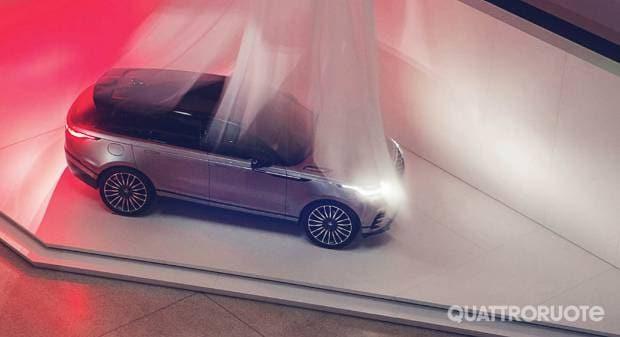 Un percorso multisensoriale dedicato alla Range Rover Velar