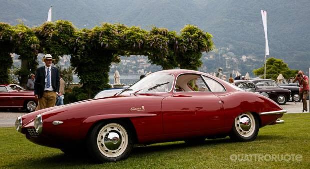Concorso di Eleganza di Villa d'Este L'Alfa Romeo SS Prototipo è Best of Show