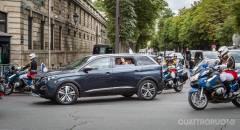 Peugeot 5008 Protagonista della sfilata parigina del 14 luglio