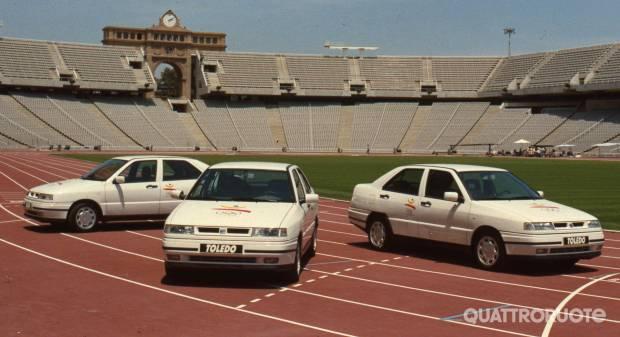 25 anni fa Le Seat olimpiche di Barcellona 1992