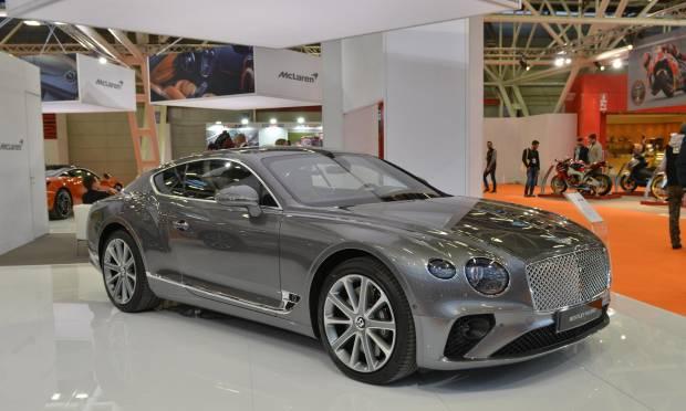 La Continental GT regina dello stand al Motor Show
