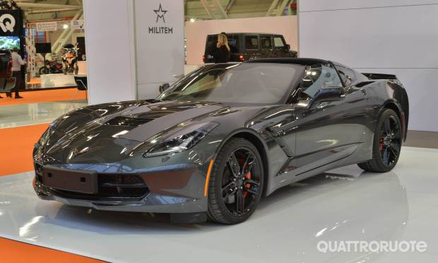 In mostra Camaro e Corvette C7 Stingray