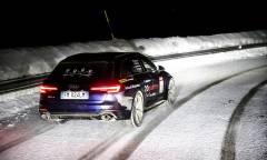 24 ore sulle Alpi con i 450 CV della RS4 Avant