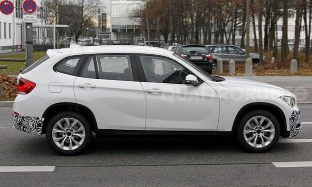BMW X1 Aggiornamenti in vista per fine 2012