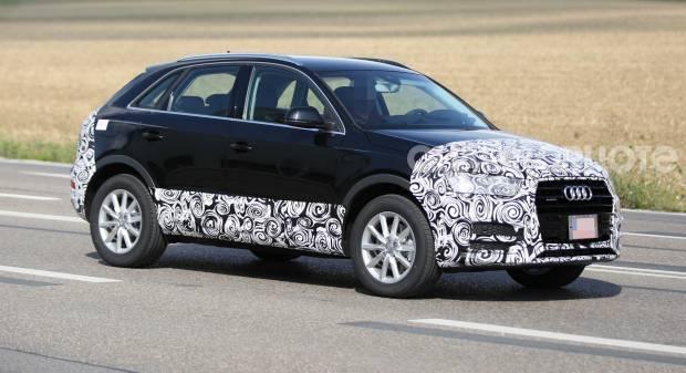 Audi Q3 Le foto senza veli del restyling