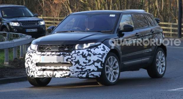 Range Rover Evoque Piccoli ritocchi e nuove motorizzazioni