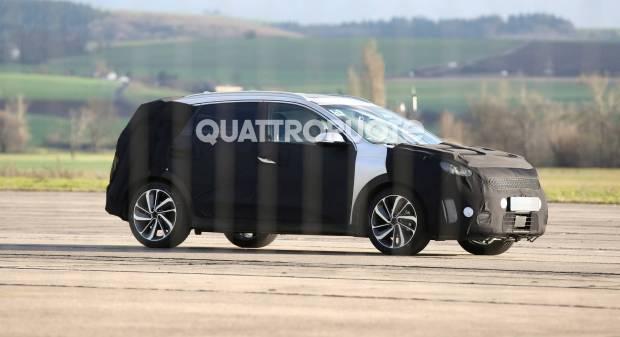 Kia Niro Primi scatti per la nuova crossover ibrida