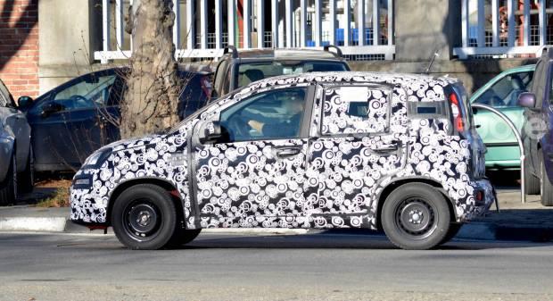 Fiat Panda Su strada i primi muletti del restyling