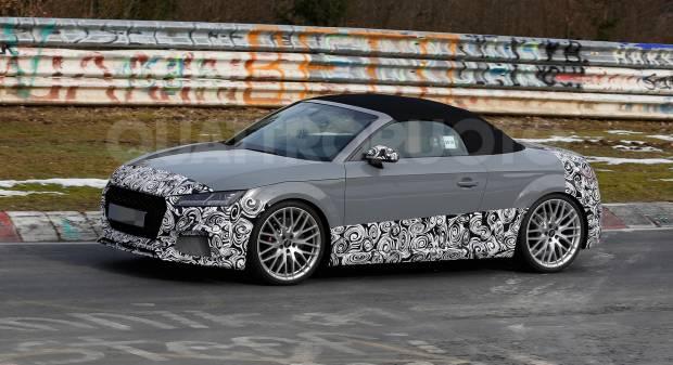 Audi TT RS Nuovi test al Ring per la roadster di Ingolstadt