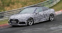 Audi RS5 Nuovi collaudi su strada e in pista