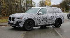 BMW X7 Primi test su strada per la nuova Suv a sette posti