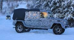Mercedes-Benz G 500 4x4 Un nuovo muletto alle prese con i test invernali