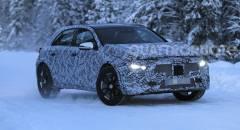 Mercedes-Benz GLA Nuovi muletti alle prese con i test invernali