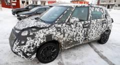 Fiat 500L Test invernali per il restyling
