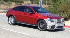 Mercedes-AMG Primi test per la GLC 63 Coupé