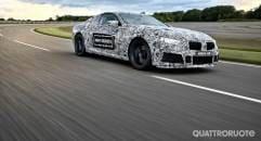 BMW M8 Il prototipo del modello di serie