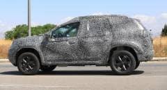 Dacia Duster Primi test su strada per la nuova generazione