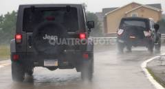 Jeep Wrangler I muletti svelano i fari posteriori
