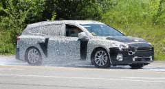Ford Focus Primi test per la station wagon