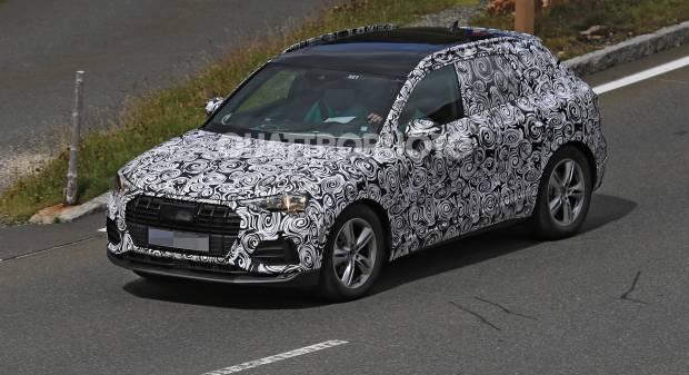 Audi Q3 Prime fasi di test per la piccola Suv