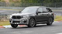 BMW X3 M Nuovi test al Ring per la Suv bavarese