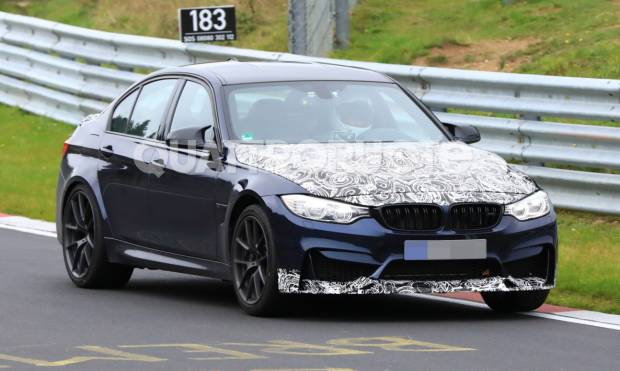 BMW M3 CS Primi test al Nürburgring