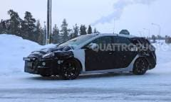 Test invernali in vista del nuovo facelift