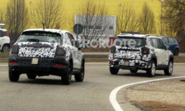 Collaudi in coppia per le Fiat 500X e Jeep Renegade