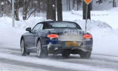 Test sulla neve anche per la cabrio