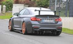 Su strada un'evoluzione della M4 GTS