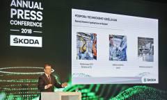 Nel 2019 la Citigo elettrica e la Superb ibrida plug-in