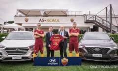 La Hyundai nuovo back sponsor dell'AS Roma - VIDEO