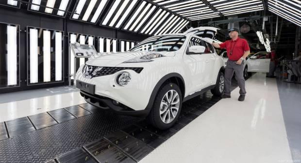 Nissan Juke Anche la seconda serie nascerà a Sunderland