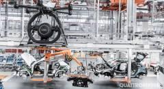 Audi La fabbrica del futuro è intelligente