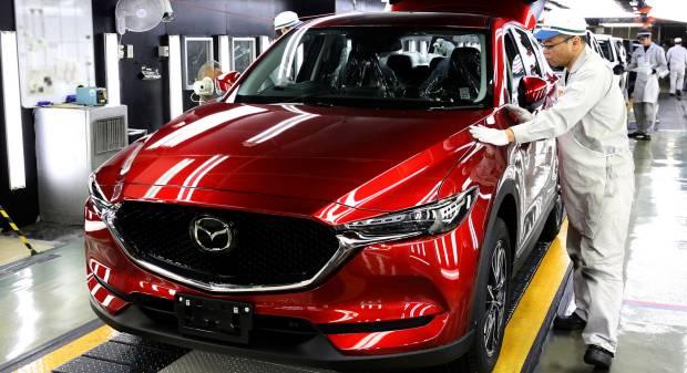 Mazda CX-5 Sarà prodotta anche nella fabbrica di Hofu