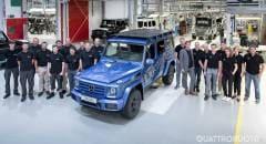 Mercedes Classe G Prodotto l'esemplare numero 300.000