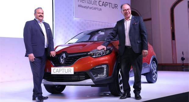 Renault Con la Captur, conquista l'India