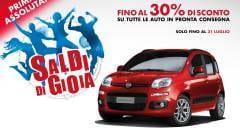 Fiat e Lancia Partono i Saldi di gioia fino a fine luglio