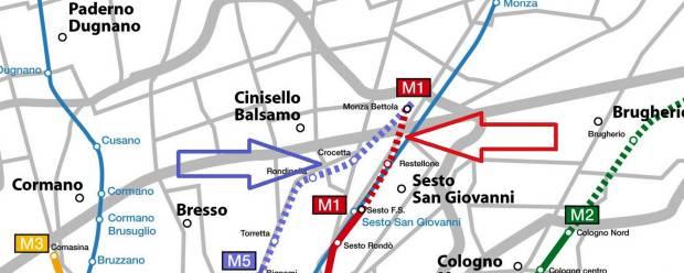 Metropolitane/Da Sesto a Monza Riparte la Rossa e si progetta la Lilla