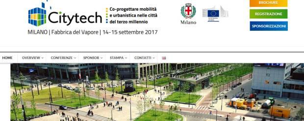 Citytech 2017 Fra mobilità e urbanistica