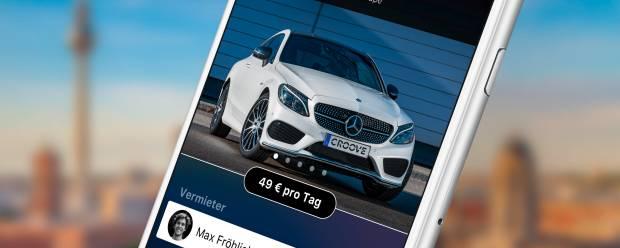 Mercedes-Benz Croove Il car sharing tra privati sbarca a Berlino