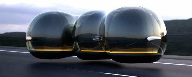 Renault Float La mobilità futura vista dagli studenti del MA Industrial Design