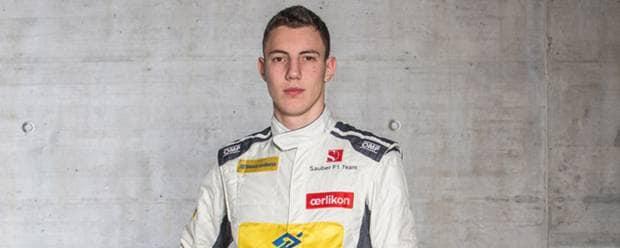 Formula 1 Il campano Marciello al volante della Sauber