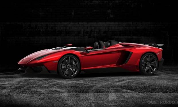 Lamborghini Aventador J La star del web [video]