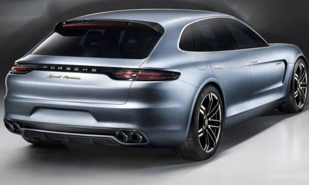Porsche Panamera Sport Turismo Il design spiegato in video