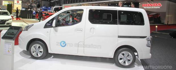 Nissan e-NV200 A Ginevra la versione di serie
