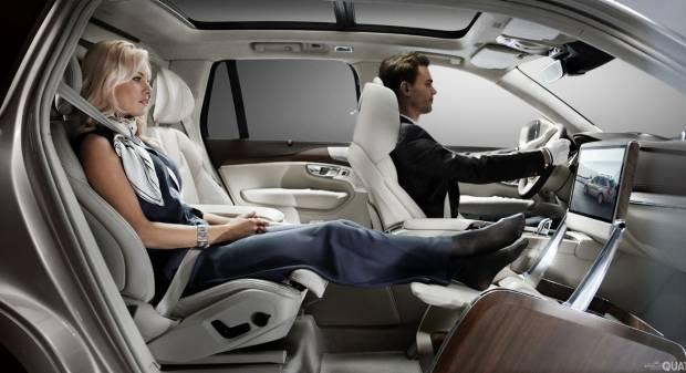 XC90 Excellence, gli interni sono da limousine [video]